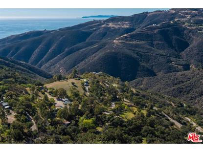 12420 YELLOW HILL RD Malibu, CA MLS# 18403594