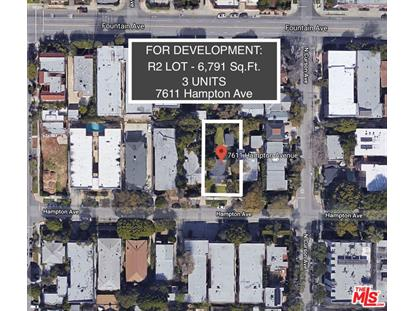 7611 HAMPTON AVE West Hollywood, CA MLS# 18408900