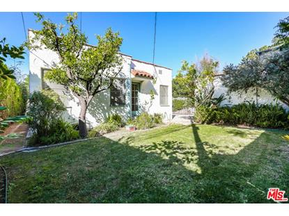160 S GARDNER ST Los Angeles, CA MLS# 18409600