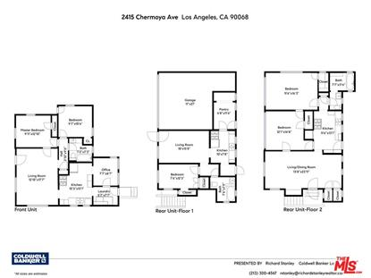 2415 CHEREMOYA AVE Los Angeles, CA MLS# 18415832