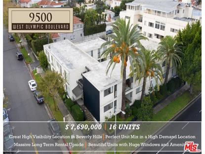 9500 W OLYMPIC Beverly Hills, CA MLS# 19421526