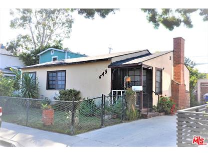 645 NAVY ST Santa Monica, CA MLS# 19475986