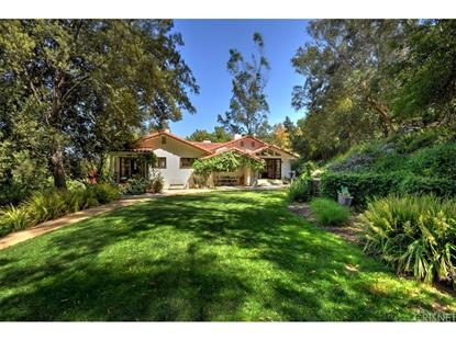 3665 WOODHILL CANYON ROAD Studio City, CA MLS# SR18112938