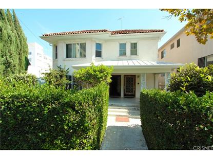 718 SOUTH SYCAMORE AVENUE Los Angeles, CA MLS# SR18283758
