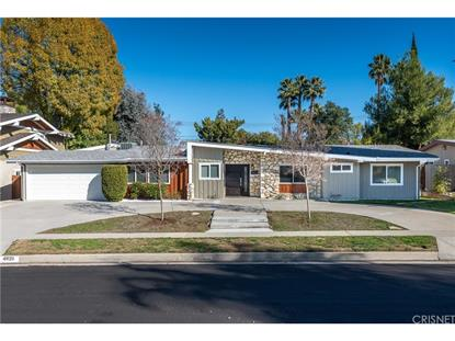 4820 ABBEYVILLE AVENUE Woodland Hills, CA MLS# SR19008884