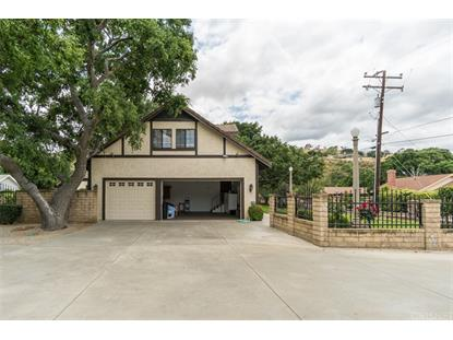 21083 PLACERITA CANYON ROAD Newhall, CA MLS# SR19106948